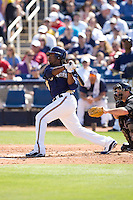 March 13, 2010 - Milwaukee Brewers' Rickie Weeks (#23) during a spring training game against the Colorado Rockies at Maryvale Baseball Park in Maryvale, Arizona.
