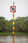 Water Hight Indicator In River