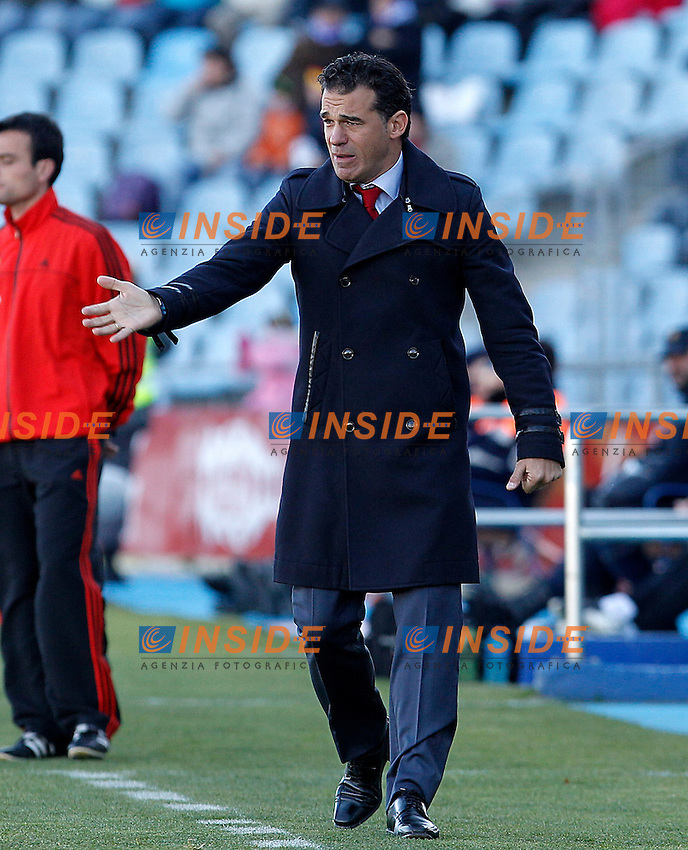 Getafe's coach Luis Garcia during La Liga match.December 01,2012. (ALTERPHOTOS/Acero) .Getafe 1/12/2012.Football Calcio 2012/2013 La Liga.Getafe Vs Malaga.Foto Alterphotos / Insidefoto.ITALY ONLY