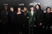 "Angelica Huston, Keanu Reeves, Halle Berry and cast at the World  Premiere of ""John Wick: Chapter 3 Parabellum"", held at One Hanson in Brooklyn, New York, USA, 09 May 2019"