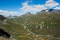 Memurudalen and Muru river, Jotunheimen national park, Norway