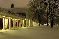 lawn pavilion snow