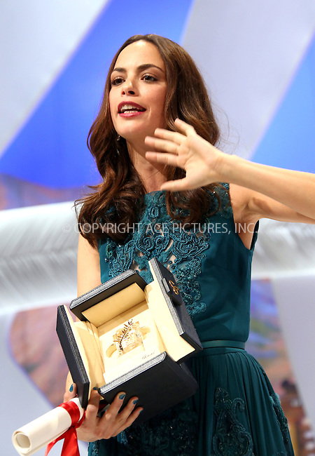 WWW.ACEPIXS.COM....US Sales Only....May 26 2013, Cannes....Berenice Bejo at the closing ceremony during the Cannes Film Festival onMay 262013 in France....By Line: Famous/ACE Pictures......ACE Pictures, Inc...tel: 646 769 0430..Email: info@acepixs.com..www.acepixs.com