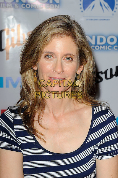 LONDON, ENGLAND - JULY 13: Helen Slater attending London Film and Comic Con 2014 at Earls Court on July 13, 2014 in London, England.<br /> CAP/MAR<br /> &copy; Martin Harris/Capital Pictures