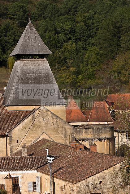 Europe/France/Aquitaine/24/Dordogne/Le Buisson-de-Cadouin: Abbaye de Cadouin<br /> :
