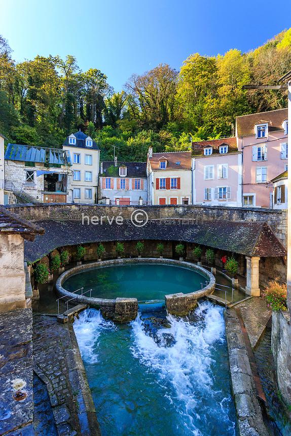 France, Yonne(89), Tonnerre, la Fosse Dionne // France, Yonne, Tonnerre, Fosse Dionne