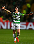Scott Brown of Celtic during the Champions League Group C match at the Celtic Park Stadium, Glasgow. Picture date: September 28th, 2016. Pic Simon Bellis/Sportimage