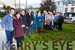 Attending the Remembrance Tree Service in the Tralee Municipal Offices in Tralee on Sunday. <br /> Front l-r, Joshua and Sharon Roche, Fr Sean Hannafin, Fr Francis Nolan, Cllr Sammy Locke and Philomena Roche.