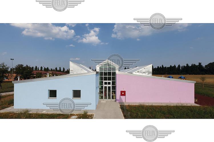 A newly built nursery school in Argelato.