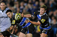 Michael Claassens of Bath Rugby in action during the LV= Cup semi final match between Bath Rugby and Leicester Tigers at The Recreation Ground, Bath (Photo by Rob Munro, Fotosports International)