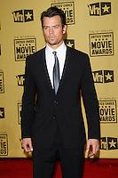 January 15, 2010:  Josh Duhamel arrives at the 15th Annual Critics' Choice Movie Awards held at the Palladium in Los Angeles, California. .Photo by Nina Prommer/Milestone Photo