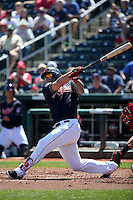 Mike Napoli - Cleveland Indians 2016 spring training (Bill Mitchell)