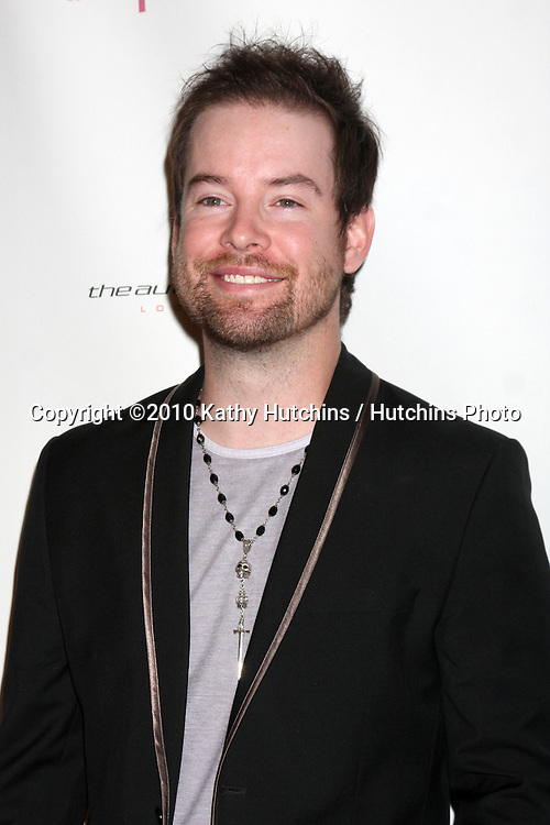 LOS ANGELES - SEP 25:  David Cook arrives at the Pink Party 2010 at W Hollywood Hotel on September 25, 2010 in Los Angeles, CA