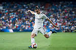 Gareth Bale of Real Madrid in action during the La Liga 2018-19 match between Real Madrid and Getafe CF at Estadio Santiago Bernabeu on August 19 2018 in Madrid, Spain. Photo by Diego Souto / Power Sport Images