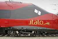 - Expo Ferroviaria alla fiera di Milano-Rho, il nuovo treno alta velocit&agrave; Pendolino prodotto da Alstom per la compagnia privata NTV Italo<br /> <br /> - Railway Expo at Milan-Rho fair, new Pendolino high-speed train produced by Alstom for the private company NTV Italo