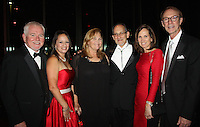 NWA Democrat-Gazette/CARIN SCHOPPMEYER Brian and Day Crowne (from left), Wendy Riggs, Robert Ginsberg and Becky and Bob Alexander gather at the Walton Arts Center gala.