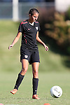 25 October 2012: Malia Berkely. The United States Girl's Under-14 National Team (1988s) held a training camp at WakeMed Soccer Park in Cary, North Carolina.