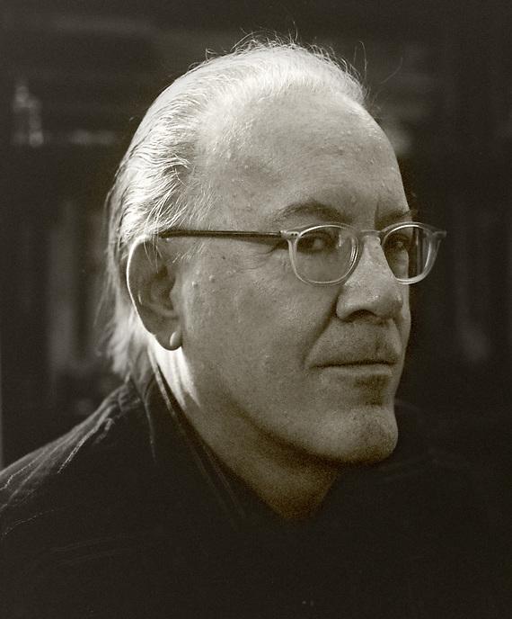Bruce Andrews, 2010.  Poet.