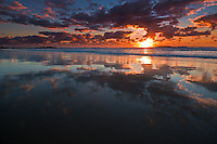 Sunrise at Frenchman's Beach, North Stradbroke Island, Queensland, Australia