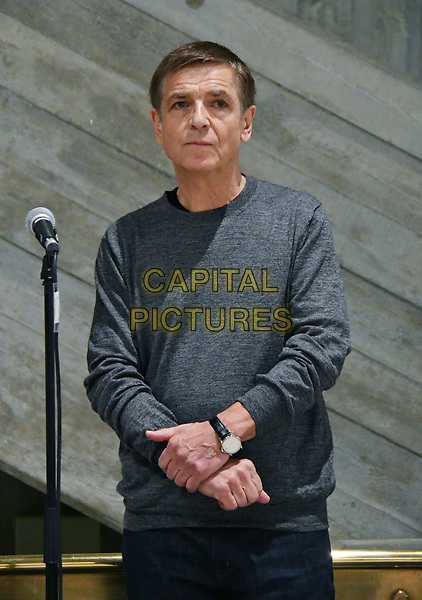 LONDON, ENGLAND - JANUARY 24: Andreas Gursky, German visual artist, marks beginning of Hayward Gallery's 50th anniversary year with the first exhibition to take place following its two year refurbishment, showcasing first major UK retrospective of his acclaimed large-scale installation work, Hayward Gallery, London England.<br /> CAP/JOR<br /> &copy;JOR/Capital Pictures