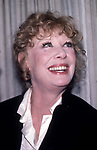 Gwen Verdon attends an after party at Lincoln Center on April1, 1981 in New York City.