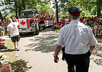Canada Day attracted a larger than usual crowd to celebrate the 150th anniversary of confederation.