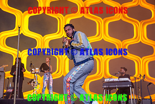 LEON BRIDGES; Live: 2019<br /> Photo Credit: JOSH WITHERS/ATLASICONS.COM