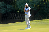 Gaganjeet Bhullar (IND) on the 15th green during the 3rd round at the WGC HSBC Champions 2018, Sheshan Golf CLub, Shanghai, China. 27/10/2018.<br /> Picture Fran Caffrey / Golffile.ie<br /> <br /> All photo usage must carry mandatory copyright credit (&copy; Golffile | Fran Caffrey)
