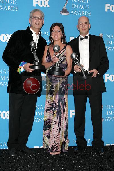 Mark R. Harris with Cathy Schulman and Bob Yari