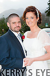 Lorraine Friel, Killarney daughter of Kevin and Margaret, and Bart Flynn, Rockfield Faha, son of Sarah and the late Brendan, who were married in St mary's Cathedral Killarney on Saturday, Fr Pat O'Donnell officiated at the ceremony, best man was Dan Flynn, bridesmaid was Jennifer Friel, flowergirl was Feithleann Somers, page boy was Conor Tangney. The couple held their reception in the Brehon Hotel and the couple will reside in Killarney