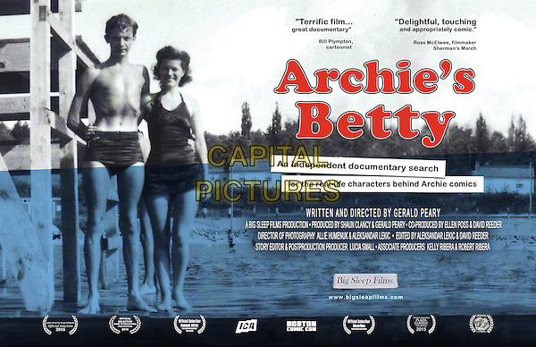 Archie's Betty (2015) <br /> POSTER ART<br /> *Filmstill - Editorial Use Only*<br /> CAP/KFS<br /> Image supplied by Capital Pictures