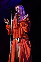 MIAMI, FL - APRIL 13: Kiiara performs at the American Airlines Arena on April 13, 2017 in Miami Florida. <br /> CAP/MPI04<br /> &copy;MPI04/Capital Pictures