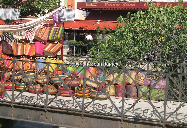 Market baskets, Isle-sur-la-Sorgue, Provence