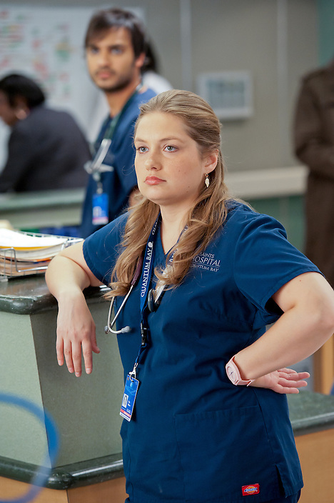 Merritt Wever as Zoey in Nurse Jackie (Season 4, episode 9) - Photo: David M. Russell/SHOWTIME - Photo ID: nurse_jackie_409_0296