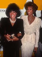 #PattiLaBelle #WhitneyHouston 1990<br /> Photo By John Barrett/PHOTOlink.net