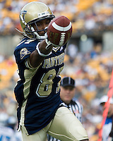 23 September 2006: Pitt wide receiver Marcel Pestano..The Pitt Panthers beat The Citadel Bulldogs 51-6 on September 23, 2006 at Heinz Field, Pittsburgh, Pennsylvania.