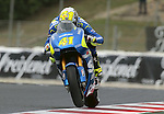12.06.2015 Montmelo. Fim. GP Monster energy of Catalonia. Picture show Aleix Espargaro Team Suzuki Estar in action during friday free practice
