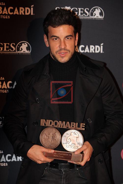 Premi Bacardi Sitges a l'Esperit Indomable 2016.<br /> Mario Casas.