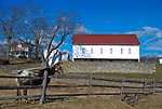 This large mid-19th Century bank barn is part of the Clitis Kibler.Farm of Patapsco.
