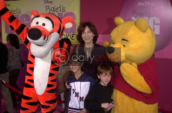 Marilu Henner and sons with