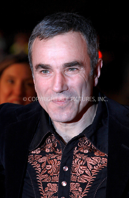 WWW.ACEPIXS.COM . . . . .  ..... . . . . US SALES ONLY . . . . .....December 3 2009, London....Actor Daniel Day-Lewis arriving at the World Premiere of 'Nine' at Odeon Leicester Square on December 3, 2009 in London, England.....Please byline: FAMOUS-ACE PICTURES... . . . .  ....Ace Pictures, Inc:  ..tel: (212) 243 8787 or (646) 769 0430..e-mail: info@acepixs.com..web: http://www.acepixs.com