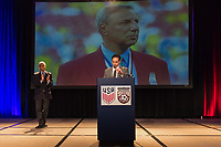 Orlando, FL - Saturday February 10, 2018: Anniversary Dinner, Anthony DeCicco during U.S. Soccer's Annual General Meeting (AGM) at the Renaissance Orlando at SeaWorld.
