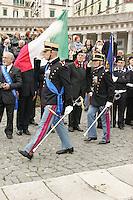 """NAPOLI, ITALIA, 19.11.2016 - DESFILE-MILITAR - Desfile Militar Escola Militar """"Nunziatella"""" por ocasião do 229 aniversário da fundação da escola militar em Napoli na Italia neste sábado, 19. (Foto: Salvatore Esposito/Brazil Photo Press)"""