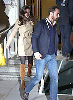 Pippa Middleton, brother James & Prince William visit Kate at hospital - London