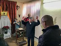Querétaro, Qro. 20 de enero de 2018.- Arranque de Obra; Conservación de exteriores e interiores en el Templo Expiatorio Diocesano (Antigua Capilla de las Carmelitas Descalzas). Foto: Demian Chávez