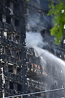 LONDON, ENGLAND - JUNE 14: Fire in North Kensington at Grenfell Tower tower block, near Notting Hill in west London on June 14th, 2017 i London, England.<br /> CAP/JOR<br /> &copy;JOR/Capital Pictures /MediaPunch ***NORTH AND SOUTH AMERICAS ONLY***