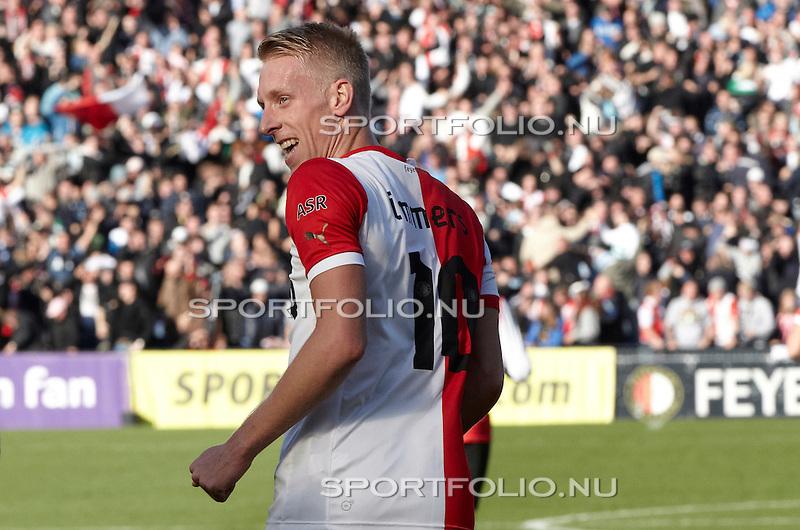Nederland, Rotterdam, 28 oktober  2012.Eredivisie.Seizoen 2012-2013.Feyenoord-Ajax 2-2.Lex Immers van Feyenoord in actie