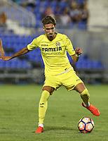 Villarreal's Samu Castillejo during the XXXVII trophy of Legane's City between CD Leganes and Villarreal CF at Butarque Stadium. August 13, 2016. (ALTERPHOTOS/Rodrigo Jimenez) /NORTEPHOTO