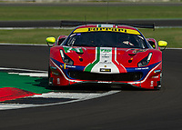 Davide Rigon (ITA), Miguel Molina (ESP) AF CORSE during the WEC 4HRS of SILVERSTONE at Silverstone Circuit, Towcester, England on 30 August 2019. Photo by Vince  Mignott.