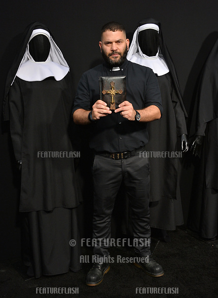 "LOS ANGELES, CA. September 04, 2018: Guillermo Diaz at the world premiere of ""The Nun"" at the TCL Chinese Theatre, Hollywood."